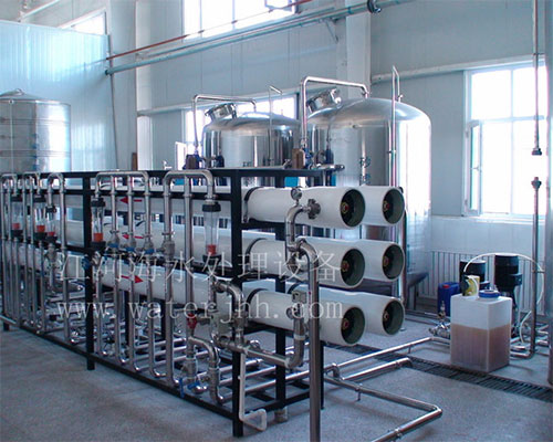 Xinjiang pure water production line equipment